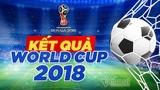 Kết quả bóng đá World Cup 2018 hôm nay 22/6