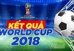 Kết quả bóng đá World Cup 2018