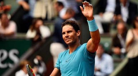 Rafael Nadal 3-0 Simone Bolelli