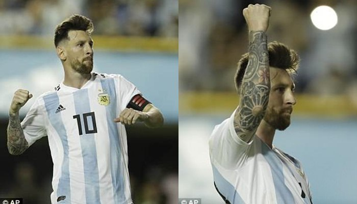 Messi lập hat-trick, Argentina đè bẹp 'tí hon' Haiti