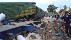 2 tàu đâm nhau ở Quảng Nam: Đình chỉ công tác trưởng ga