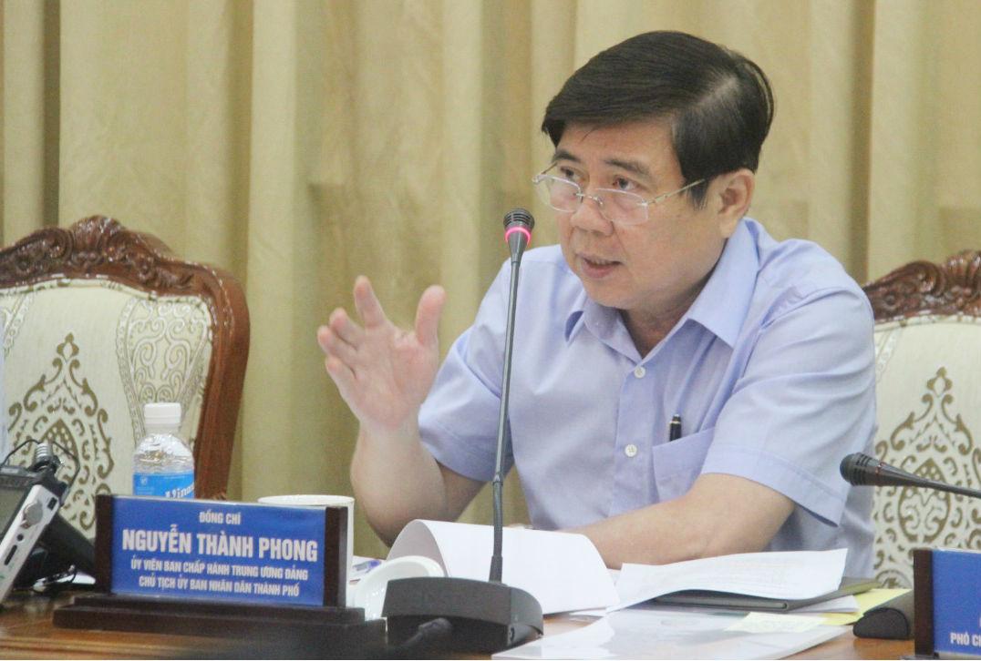 Chủ tịch TP.HCM: 'Lãnh đạo bỏ họp, lấy gì chỉ đạo cấp dưới'