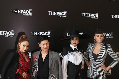 Thanh Hằng xuất hiên tại buổi casting The Face