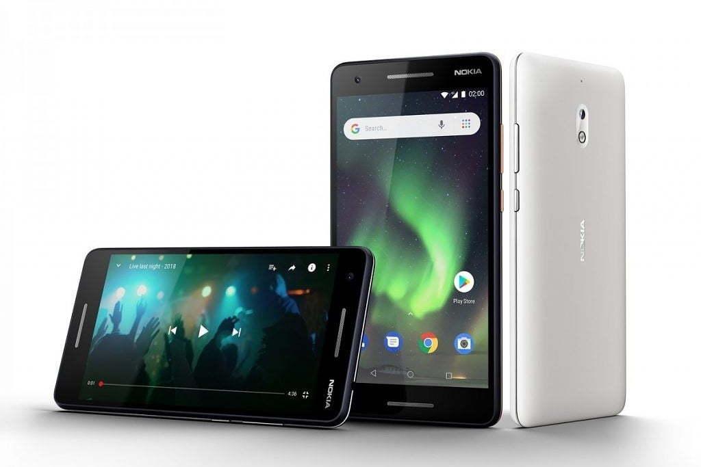 Nokia làm mới liền lúc ba mẫu smartphone bình dân