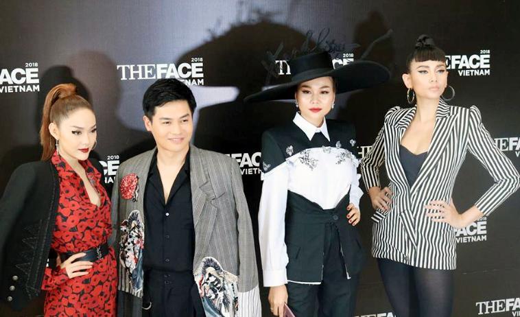 Thanh Hằng,Hoàng Yến,Minh Hằng,Nam Trung,The face,Gương mặt người mẫu Việt Nam