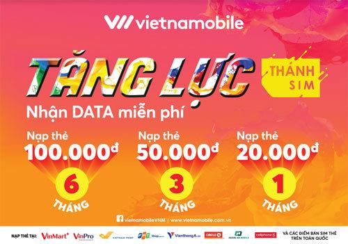 'Thánh SIM' Vietnamobile: data vô tận lên đến nửa năm