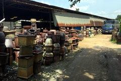 Cảnh tượng buồn ở làng gốm cổ xưa nhất Nam Bộ