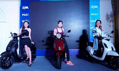 SYM mang dòng xe 'huyền thoại' trở lại Việt Nam