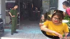 Cô gái tái mặt nhìn máu chảy đầy tay sau tiếng nổ vỡ kính