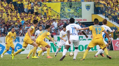 Thanh Hóa 0-1 HAGL