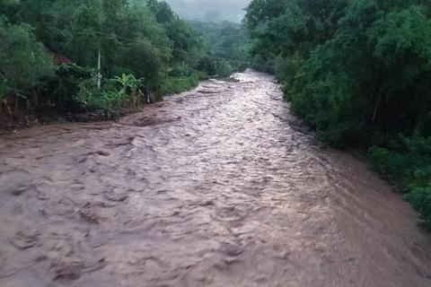 mưa lớn Sơn La