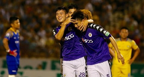 SLNA 1-2 Hà Nội FC