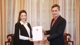 Lý Nhã Kỳ làm Lãnh sự danh dự Romania tại TP.HCM