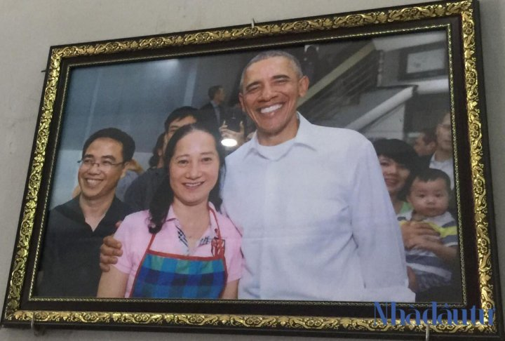 đất vàng,bún chả Obama