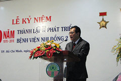 Bệnh viện Nhi Đồng 2 tạo được nhiều dấu ấn sau 40 năm thành lập