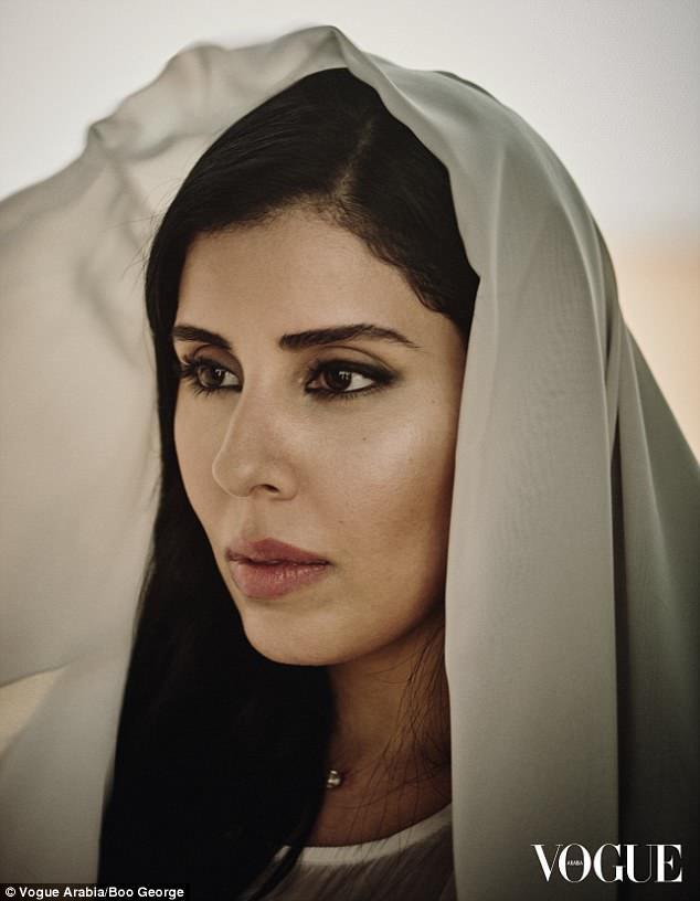 Ngắm vẻ đẹp sâu thẳm của công chúa Ảrập
