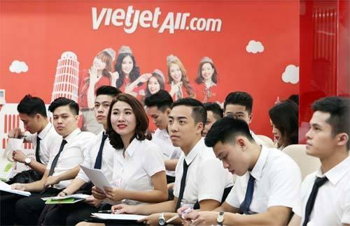 Tháng 6, Vietjet mở hai đợt tuyển tiếp viên lớn