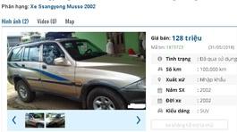 Những chiếc ô tô SUV cũ này đang rao giá chỉ 100 triệu tại Việt Nam