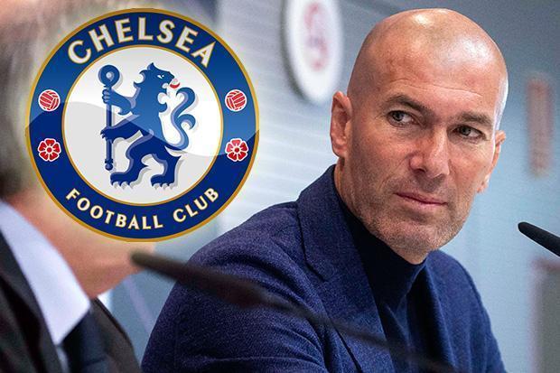Chelsea sốt xình xịch mời Zidane về thay Conte