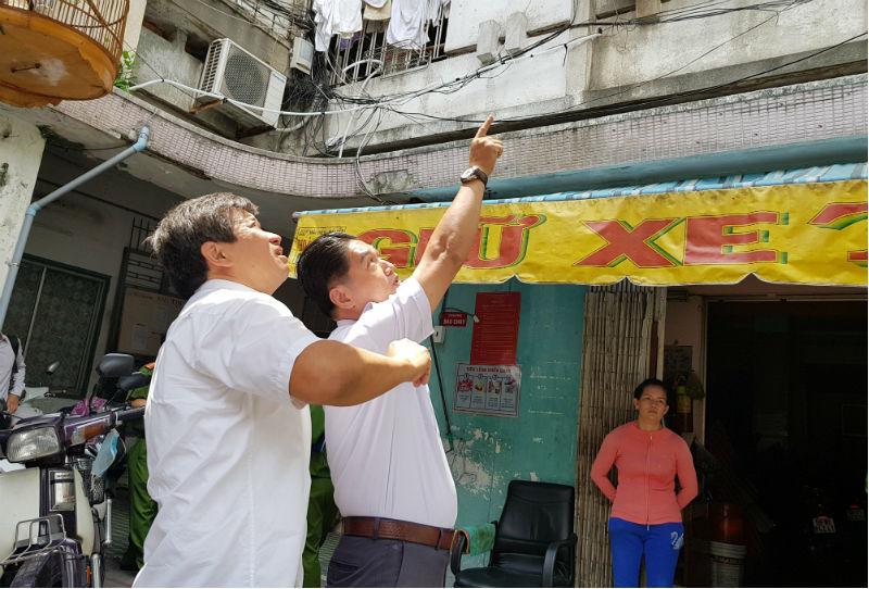 Ông Đoàn Ngọc Hải cưỡng chế nhà hàng vi phạm sau khi rút đơn từ chức
