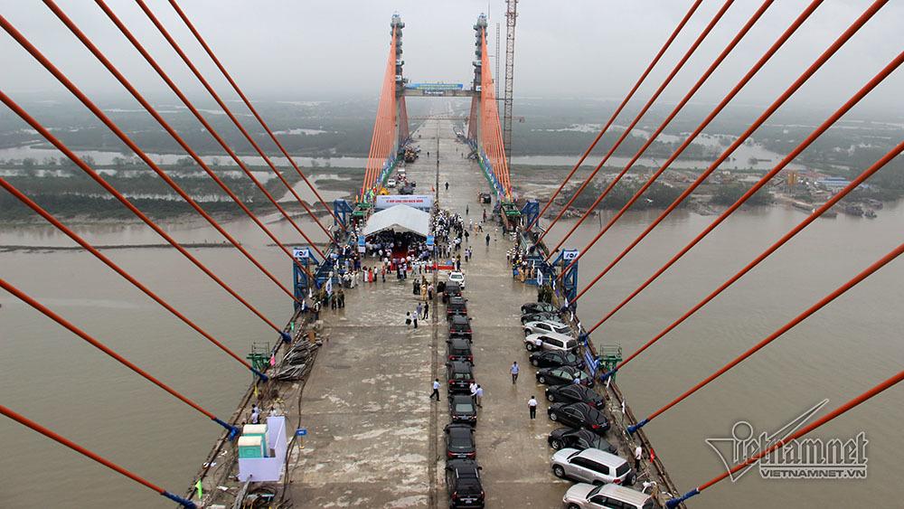 cầu Bạch Đằng,Quảng Ninh,chậm tiến độ