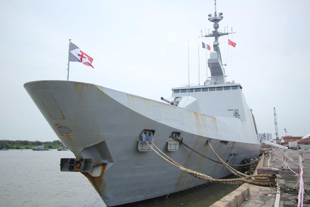 chiến hạm Pháp,chiến dịch Jeanne d'Arc.,Sài Gòn