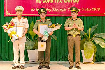 Bổ nhiệm Giám đốc Công an tỉnh Bà Rịa-Vũng Tàu