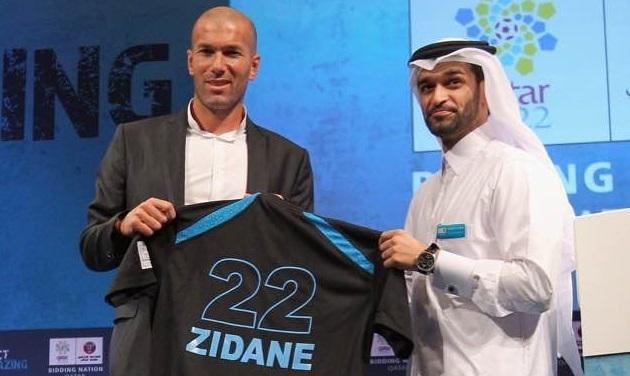 Qatar chi 'tiền tấn' mời Zidane dẫn dắt ĐTQG