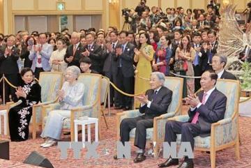 Chủ tịch nước dự lễ kỷ niệm 45 năm thiết lập quan hệ Việt Nam-Nhật Bản