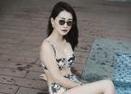 MC Quỳnh Chi sexy với áo tắm 2 mảnh ở Đà Nẵng