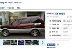Những chiếc ô tô SUV cũ này đang rao bán tầm giá 200 triệu tại Việt Nam