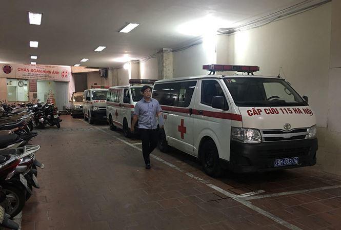 Chuyện chưa kể ở trung tâm cấp cứu 115 Hà Nội