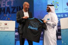 Sự thật Zidane dẫn Qatar, lương 50 triệu euro/năm