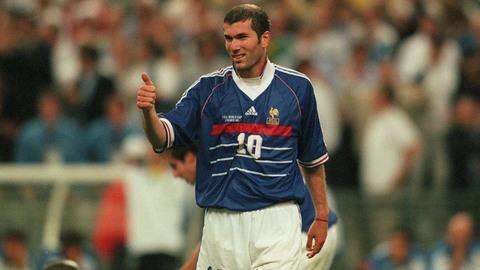 Zidane và 10 tuyệt phẩm với Pháp