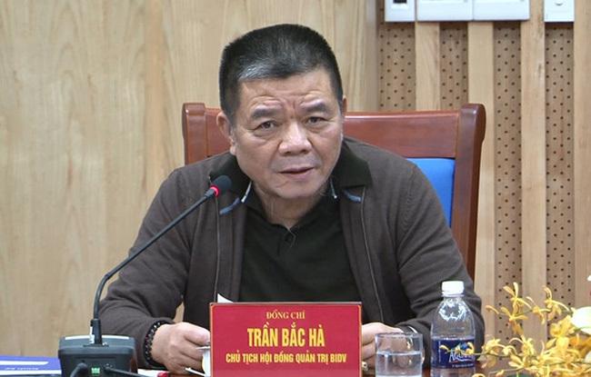 Uỷ ban Kiểm tra TƯ,ngân hàng BIDV,BIDV,Trần Bắc Hà,Ngân hàng Xây dựng