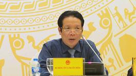 Bộ TT&TT sẽ thực hiện nghiêm kết luận của Ủy ban Kiểm tra TƯ