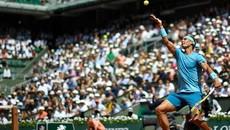 """""""Thổi bay"""" Gasquet, Nadal thẳng tiến vòng 4"""
