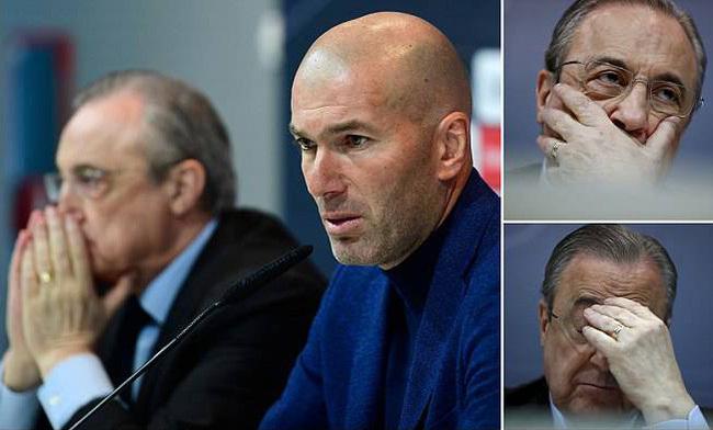 Real Madrid lao đao vì Zidane bỏ đi