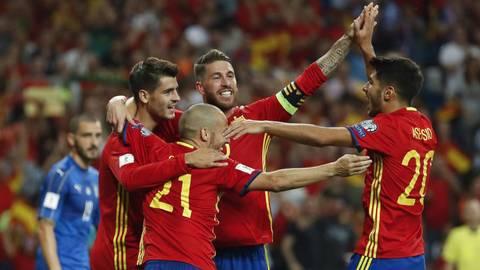 Đường đến World Cup 2018 của Tây Ban Nha