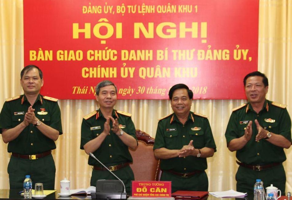 Công bố quyết định nghỉ hưu một số tướng lĩnh quân đội, công an