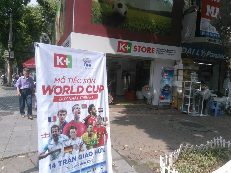 Chưa có bản quyền, World Cup vẫn nhộn nhịp khắp nhà đài