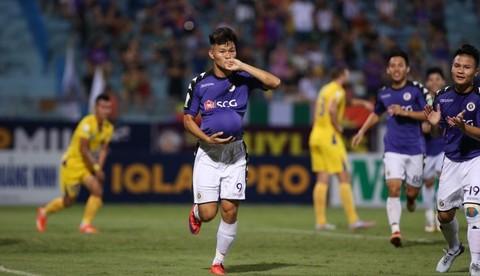 Hà Nội FC 1-0 Khánh Hòa: Văn Thành mở tỷ số