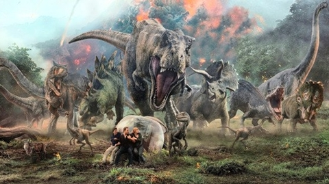 Jurassic World BTS
