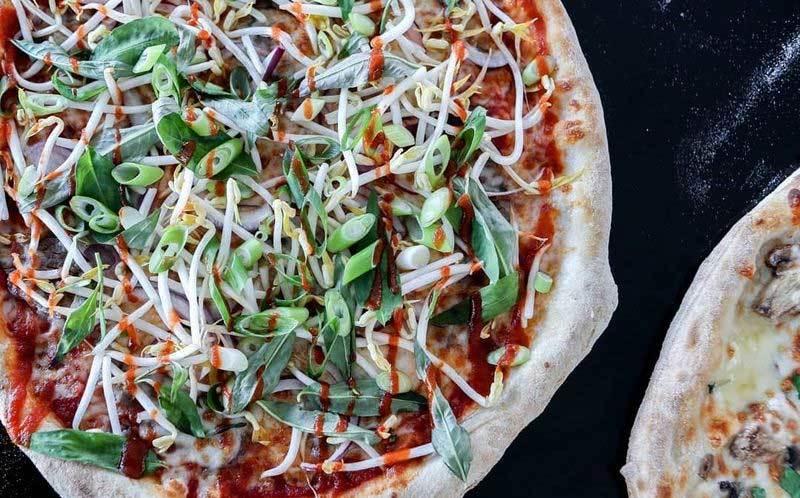 pizza,pizza vị phở,pizza phở,món ăn,món truyền thống,Việt Nam