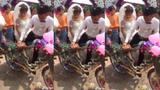 Rước dâu bằng... siêu xe đạp