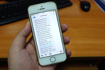 Viettel, VinaPhone bắt đầu khóa một chiều thuê bao di động