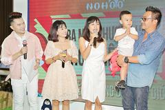 Sao Việt hào hứng dự lễ ra mắt balo trẻ em Nohoo