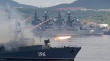 Cận cảnh các chiến hạm của hạm đội Phương Bắc Nga
