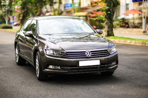 Passat BlueMotion gây ấn tượng với công nghệ xe sang