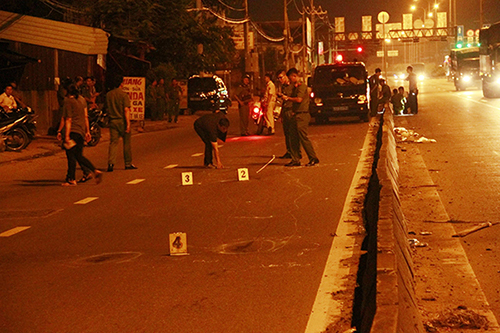 Phó công an phường nổ súng khiến nam thanh niên 'đi bão' tử vong
